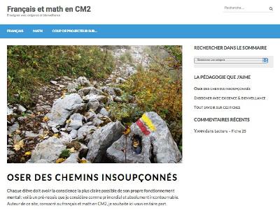 Fiches D Exercices De Francais Et Math Cm2